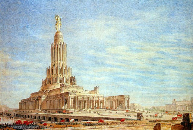 Boris Iofan Project for the Palace of the Soviets (1934)